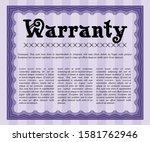 object oviolet vintage...   Shutterstock .eps vector #1581762946