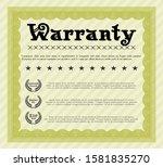 object oyellow retro warranty...   Shutterstock .eps vector #1581835270
