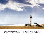 Pigeon Point Lighthouse On The...