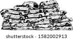 Junkyard Cars Hand Drawn...