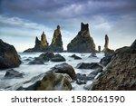 Famous Tourist Landscape With...