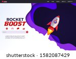 rocket boost website landing...