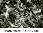 titanium gears and parts for...   Shutterstock . vector #158212538