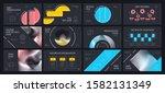 presentation template design.... | Shutterstock .eps vector #1582131349