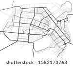 master plan of barnaul city.... | Shutterstock .eps vector #1582173763