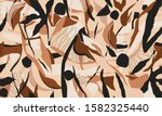 hand drawn abstract pattern.... | Shutterstock .eps vector #1582325440
