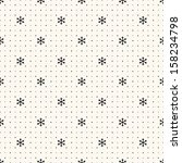 Постер, плакат: Vector seamless retro pattern