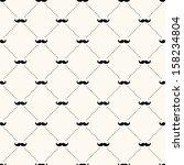 vector seamless retro pattern ... | Shutterstock .eps vector #158234804