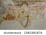 Romanesque Mural Painting In...