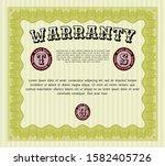 yellow warranty. modern design. ...   Shutterstock .eps vector #1582405726