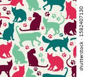 seamless pattern of nicecolors...   Shutterstock . vector #1582407130