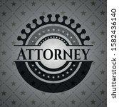 attorney black emblem. vintage. ... | Shutterstock .eps vector #1582436140