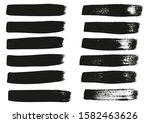 calligraphy paint wide brush... | Shutterstock .eps vector #1582463626