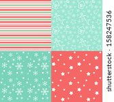 collection for scrapbook. red... | Shutterstock .eps vector #158247536