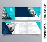 brochure design  brochure... | Shutterstock .eps vector #1582536439