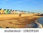 Beach Huts At Southwold Suffol...