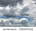 Clover Leaf Cloud Shape In...