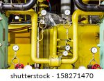 thermal power plant piping and... | Shutterstock . vector #158271470