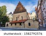 Old New Synagogue Or Staronova...