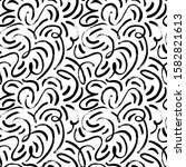 maze with swirled  curved lines ...   Shutterstock .eps vector #1582821613