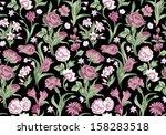 dark fantastic seamless vector... | Shutterstock .eps vector #158283518