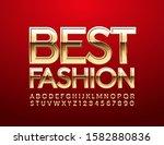 vector chic emblem best fashion.... | Shutterstock .eps vector #1582880836