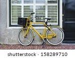 Yellow Retro Transport Bike...