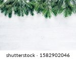 christmas and new year frame... | Shutterstock . vector #1582902046