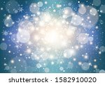 winter background with... | Shutterstock .eps vector #1582910020