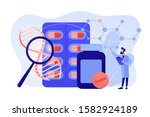 pharmaceutical drug products... | Shutterstock .eps vector #1582924189