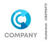 letter c logo icon design... | Shutterstock .eps vector #1582956973
