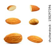 almond nuts | Shutterstock . vector #158297396