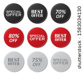 set of special offer  best... | Shutterstock .eps vector #1583034130