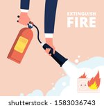 Fire Extinguisher And Electric...