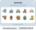 winter filled icons pack for ui....