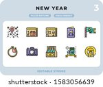 new year filled icons pack for...