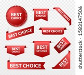 best choice tags isolated ... | Shutterstock .eps vector #1583147506
