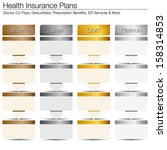 an image of health insurance... | Shutterstock .eps vector #158314853