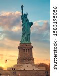 Statue Of Liberty In The...