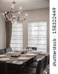 Dining Room With Modern...