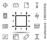 print guides  crop icon. can be ...