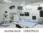 operating room with surgical... | Shutterstock . vector #158329613