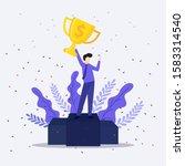 vector illustration concept of... | Shutterstock .eps vector #1583314540