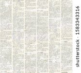 Newspaper seamless pattern with ...