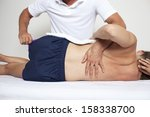 chiropractic therapy | Shutterstock . vector #158338700