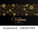 christmas colorful greeting... | Shutterstock .eps vector #1583397469