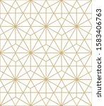 seamless geometric pattern.... | Shutterstock . vector #1583406763