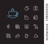 coffee icons set. coffee and...