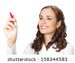happy smiling cheerful young...   Shutterstock . vector #158344583