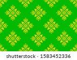 saree border design concept of... | Shutterstock .eps vector #1583452336